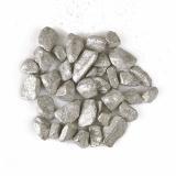 11 x  Deko - Steine 450 ml silber Glittertree 9 - 13 mm