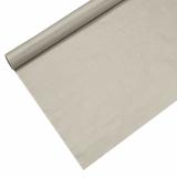 12 x  Tischdecke, Papier 6 m x 1,2 m silber lackiert