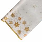 12 x  Tischdecke, Papier 6 m x 1,2 m weiss Just Stars