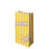 10 x  100 Popcorn Tüten, Pergament-Ersatz 1,3 l 20,5 cm x 10,5 cm x 6 cm Popcorn fettdicht