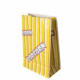 10 x  100 Popcorn Tüten, Pergament-Ersatz 2,5 l 22 cm x 14 cm x 8 cm Popcorn fettdicht