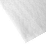 250 Blatt Papiertischtuch mit Damastprägung eckig 80 cm x 80 cm weiss