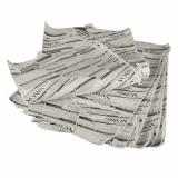 6 x  Einschlagpapiere, Pergament-Ersatz 35 cm x 25 cm Newsprint fettdicht (1 kg)