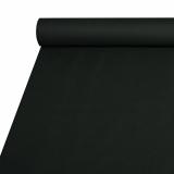 2 x  Tischdecke, stoffähnlich, Airlaid 20 m x 1,2 m schwarz