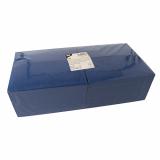 4 x  250 Servietten, 3-lagig 1/8-Falz 40 cm x 40 cm dunkelblau