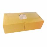 4 x  250 Servietten, 3-lagig 1/8-Falz 40 cm x 40 cm gelb