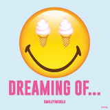 10 x  20 Servietten, 3-lagig 1/4-Falz 33 cm x 33 cm Dreaming of - Smiley
