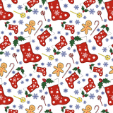 15 x  20 Servietten, 3-lagig 1/4-Falz 33 cm x 33 cm Christmas Socks