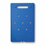 6 x  Kühlakku 53 cm x 32,5 cm x 2,5 cm blau Gastro-Norm 1/1