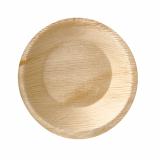 4 x  25 Schalen, Palmblatt pure rund 300 ml Ø 15 cm · 3 cm
