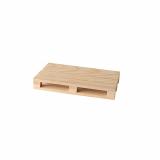 10 x  3 Trays für Fingerfood, Holz 2 cm x 8 cm x 13 cm