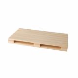 10 x  3 Trays für Fingerfood, Holz 2 cm x 12 cm x 20 cm