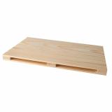 10 x  Tray für Fingerfood, Holz 2 cm x 20 cm x 30 cm
