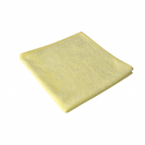 20 x  10 Microfasertücher 40 cm x 40 cm gelb Stretch