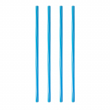 10 x  135 Shake-Halme Ø 8 mm · 25 cm Bayrisch Blau