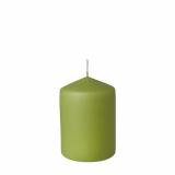 8 x  Stumpenkerze Ø 69 mm · 100 mm pastellgrün