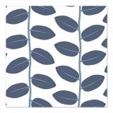 10 x  20 Servietten, 3-lagig 1/4-Falz 33 cm x 33 cm blau Bönor & Blad
