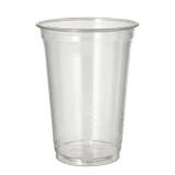 16 x  65 Kaltgetränkebecher, PLA pure 0,4 l Ø 9,5 cm · 12,7 cm glasklar