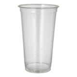 16 x  60 Kaltgetränkebecher, PLA pure 0,5 l Ø 9,5 cm · 15,14 cm glasklar
