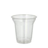16 x  80 Kaltgetränkebecher, PLA pure 0,2 l Ø 9,5 cm · 9,59 cm glasklar