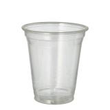 16 x  70 Kaltgetränkebecher, PLA pure 0,3 l Ø 9,5 cm · 10,68 cm glasklar