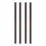 10 x  135 Shake-Halme PLA pure Ø 8 mm · 25 cm schwarz