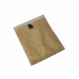 5 x  100 Snackbeutel 20 cm x 16 cm paper look geblockt auf Hülsen