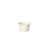 20 x  250 Dressingbecher, Papier pure rund 35 ml Ø 4 cm · 3,1 cm weiss