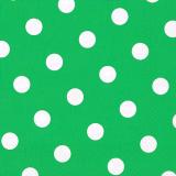 10 x  20 Servietten, 3-lagig 1/4-Falz 40 cm x 40 cm grün Dots