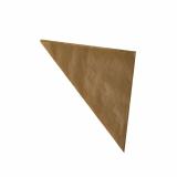 1000 Spitztüten, Pergament-Ersatz 27 cm x 19 cm x 19 cm braun Füllinhalt 125 g, fettdicht