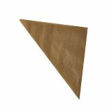 1000 Spitztüten, Pergament-Ersatz 32,5 cm x 23 cm x 23 cm braun Füllinhalt 250 g, fettdicht