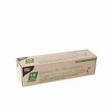 18 x  15 Kompostbeutel, Bio-Folie 10 l 42 cm x 50 cm grün mit Tragegriff