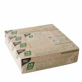 6 x  60 Kompostbeutel, Bio-Folie 15 l 44 cm x 55 cm grün mit Tragegriff