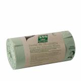 15 x  10 Kompostbeutel, Bio-Folie 240 l 145 cm x 110 cm grün