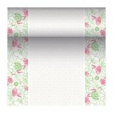 4 x  Tischläufer, stoffähnlich, PV-Tissue Mix ROYAL Collection 24 m x 40 cm fuchsia Agnes