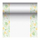 4 x  Tischläufer, stoffähnlich, PV-Tissue Mix ROYAL Collection 24 m x 40 cm gelb Agnes