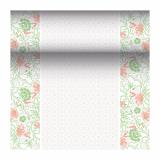 4 x  Tischläufer, stoffähnlich, PV-Tissue Mix ROYAL Collection 24 m x 40 cm rosé Agnes
