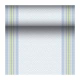 4 x  Tischläufer, stoffähnlich, PV-Tissue Mix ROYAL Collection 24 m x 40 cm jeansblau Chirala