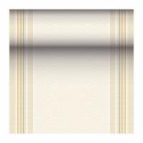 4 x  Tischläufer, stoffähnlich, PV-Tissue Mix ROYAL Collection 24 m x 40 cm gelb Chirala