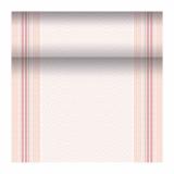 4 x  Tischläufer, stoffähnlich, PV-Tissue Mix ROYAL Collection 24 m x 40 cm rosé Chirala