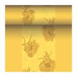 4 x  Tischläufer, stoffähnlich, PV-Tissue Mix ROYAL Collection 24 m x 40 cm gelb Thalia