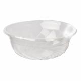 10 x  50 Feinkost- und Salatschalen, PLA pure rund 1100 ml Ø 17,5 cm · 7,5 cm transparent