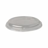 10 x  50 Dom-Deckel, PLA pure rund Ø 18,1 cm · 2,3 cm transparent
