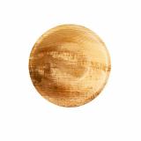 10 x  6 Schalen, Palmblatt pure rund 200 ml Ø 13 cm · 3 cm