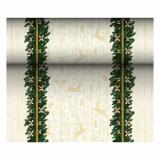 6 x  Tischläufer, stoffähnlich, Airlaid 24 m x 40 cm Golden Star