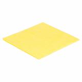 20 x  10 Allzwecktücher 38 cm x 38 cm gelb
