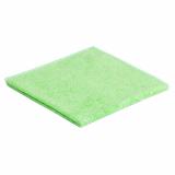 20 x  10 Microfasertücher 40 cm x 40 cm grün Stretch