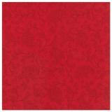 5 x  50 Servietten ROYAL Collection 1/4-Falz 48 cm x 48 cm rot Ornaments