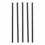 12 x  100 Shake-Halme, Papier pure Ø 8 mm · 25 cm schwarz
