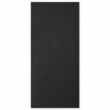 5 x  50 Servietten ROYAL Collection 1/8-Falz 48 cm x 48 cm schwarz